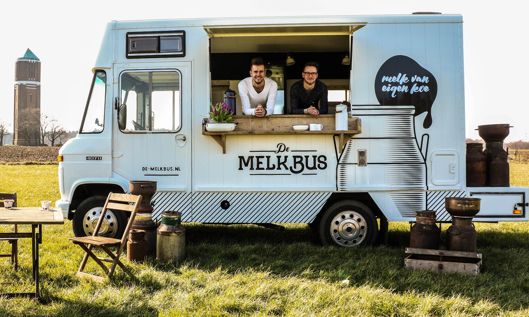 De Melkbus is genomineerd voor de 24kitchen Food Truck Awards
