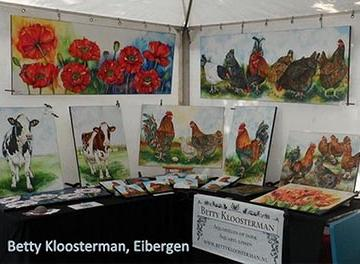 Betty Kloosterman Aquarellen